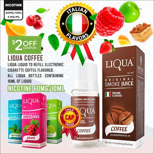 ایجوس لیکوا قهوه Coffee با نیکوتین ۶٠ میلی گرمی