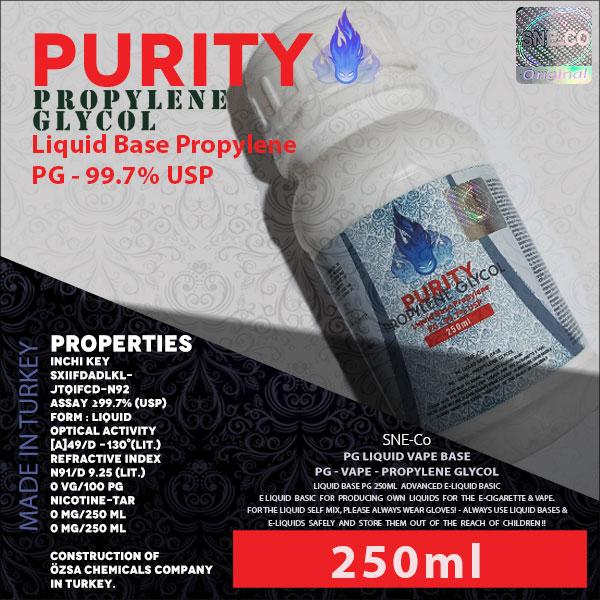 پی جی – پروپیلن گلیکول پیوریتی – PG-250ml
