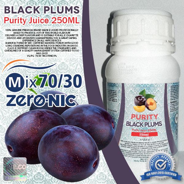 ایجوس طعم طبیعی آلو سیاه پیوریتی ٢۵٠ میلی لیتری