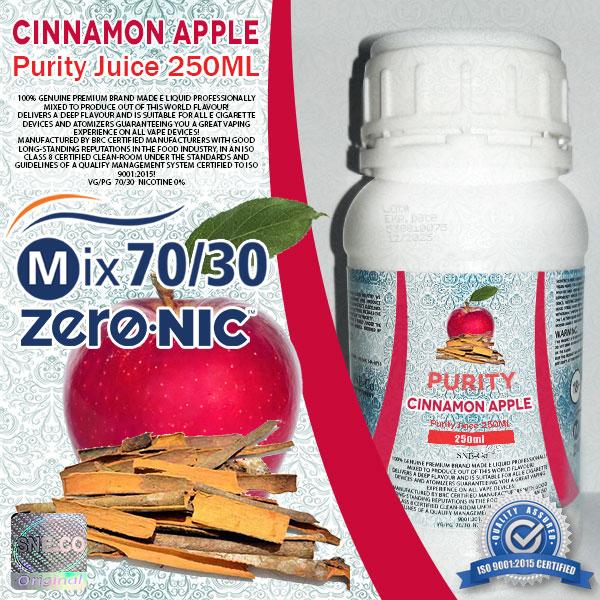 ایجوس طعم طبیعی سیب دارچین پیوریتی ٢۵٠ میلی لیتری