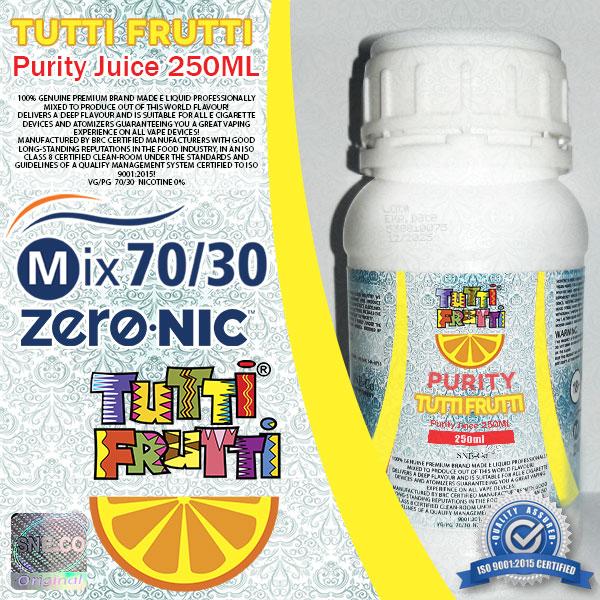 ایجوس طعم توتی فروتی پیوریتی ٢۵٠ میلی لیتری